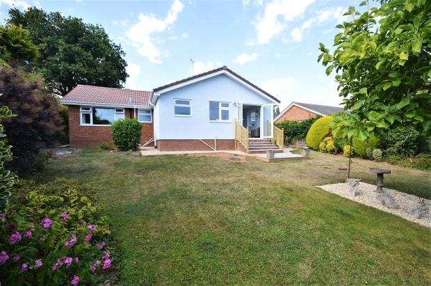 3 Bedrooms Detached Bungalow for sale in Stevens Lane, Sidmouth, Devon
