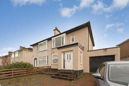 3 Bedrooms Semi Detached House for sale in Gleniffer Drive, Barrhead