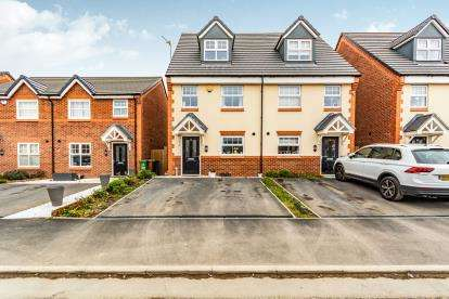 3 Bedrooms Semi Detached House for sale in Eason Way, Ashton Under Lyne, Tameside, Greater Manchester