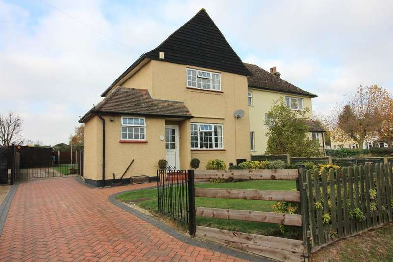 3 Bedrooms Semi Detached House for sale in Luton Road, Cockernhoe, Bedfordshire, LU2 8PZ