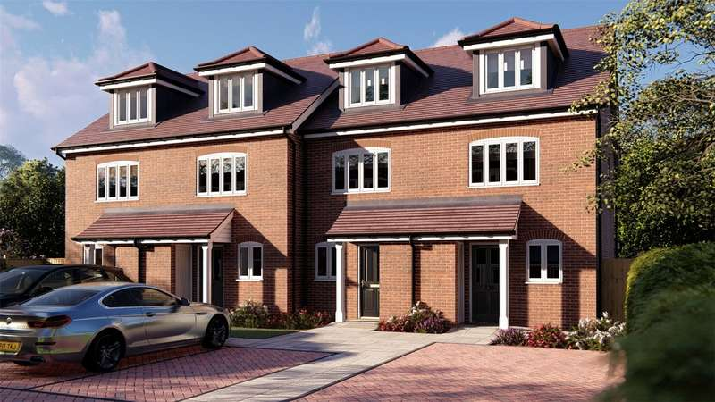 3 Bedrooms Terraced House for sale in Onslow House, 3 Onslow Place, Woking, Surrey, GU24