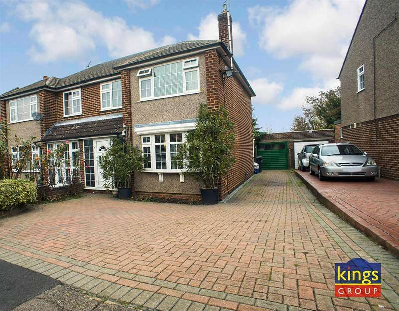 3 Bedrooms Semi Detached House for sale in Honey Brook, Waltham Abbey