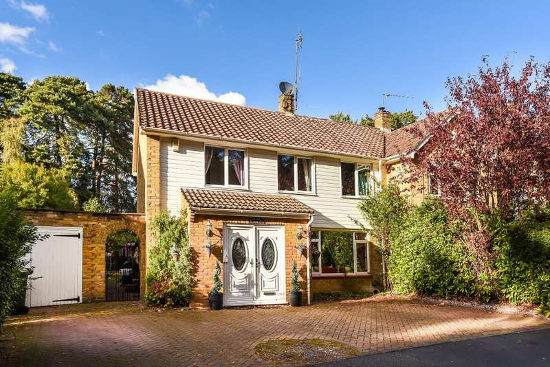 4 Bedrooms Detached House for sale in Beswick Gardens, Bracknell, RG12