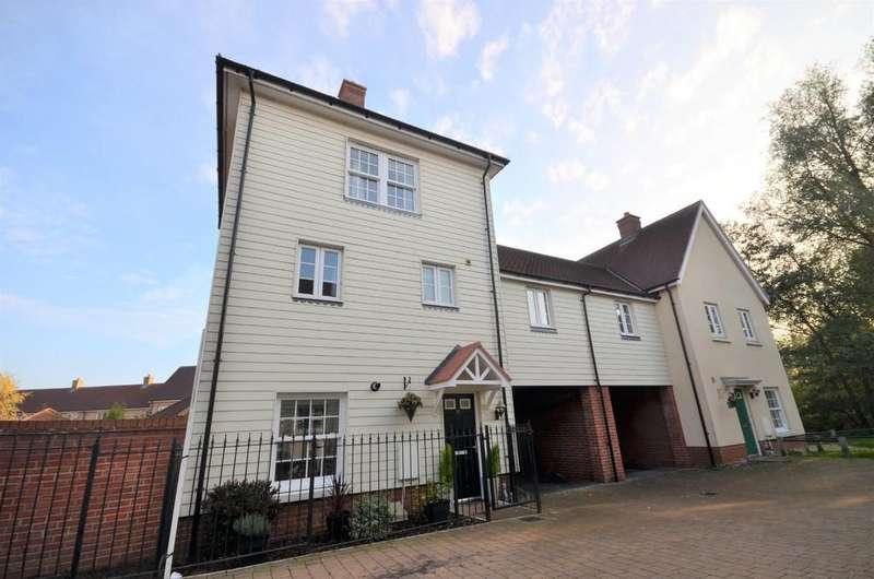 4 Bedrooms Link Detached House for sale in River Bank Walk, Colchester, CO1 1QJ