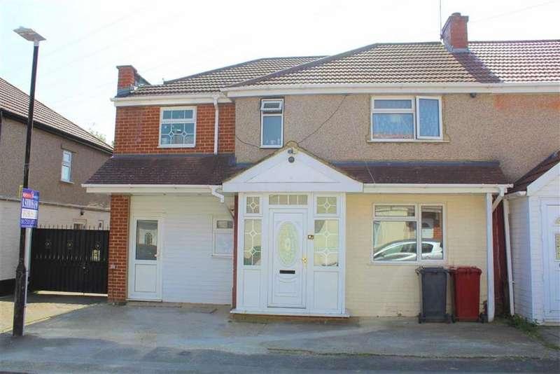 5 Bedrooms Semi Detached House for sale in Myrtle Crescent, Slough, Berkshire