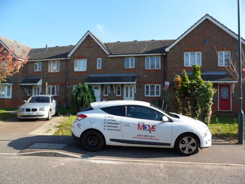 3 Bedrooms Terraced House for sale in SUMMERTON WAY, THAMESMEAD, LONDON, SE28 8QX