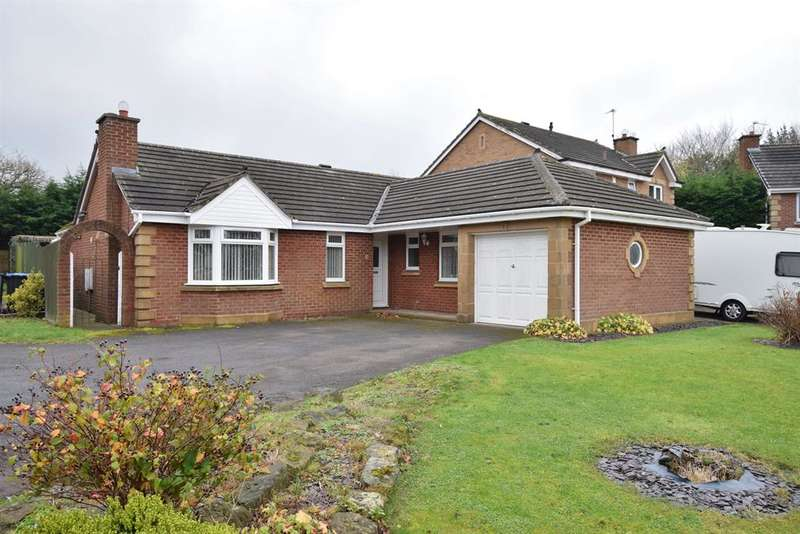 3 Bedrooms Detached Bungalow for sale in St. Ives Close, Tollesby Hall, Middlesbrough, TS8 9AA