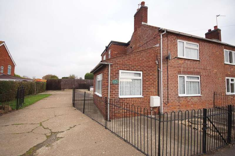 2 Bedrooms Semi Detached House for sale in Gainsborough Road, Middle Rasen, Market Rasen
