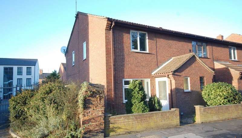2 Bedrooms End Of Terrace House for sale in 1 Eastfield Court, Louth, LN11 7AJ