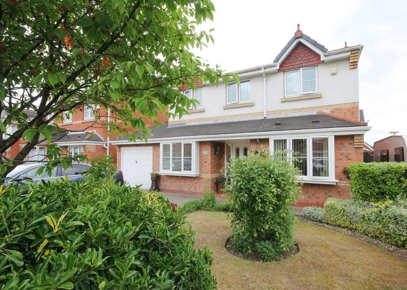 4 Bedrooms Detached House for sale in Highmarsh Crescent, Newton-le-Willows, WA12