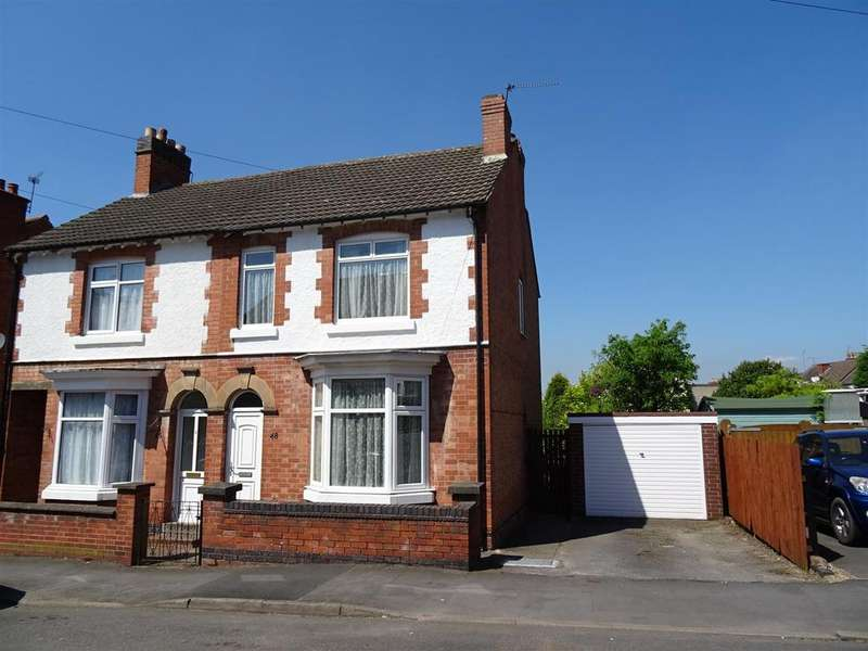3 Bedrooms Semi Detached House for sale in Garendon Road, Shepshed, Leicestershire