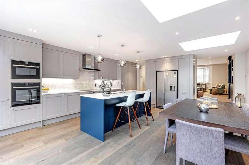 4 Bedrooms Semi Detached House for sale in Stanton Road, Barnes, London, SW13
