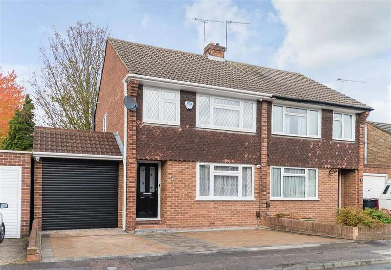 3 Bedrooms Semi Detached House for sale in Mallard Drive, Cippenham