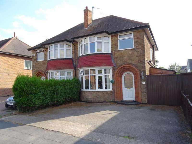 3 Bedrooms Semi Detached House for sale in Scotlands Drive, Coalville, Leicestershire