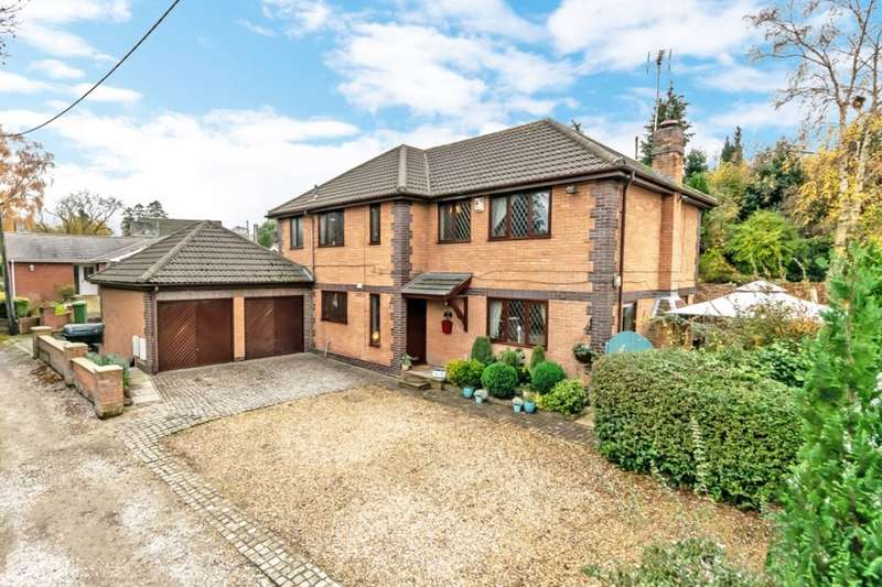 5 Bedrooms Detached House for sale in Proffits Lane, Helsby, Frodsham, WA6