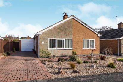 3 Bedrooms Bungalow for sale in Brookes Avenue, Croft, Leicester, Leicestershire