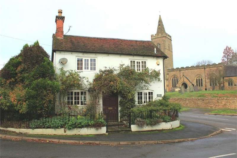 2 Bedrooms Cottage House for sale in Cedar Cottage, Manor Road, Bitteswell, Lutterworth, Leicestershire