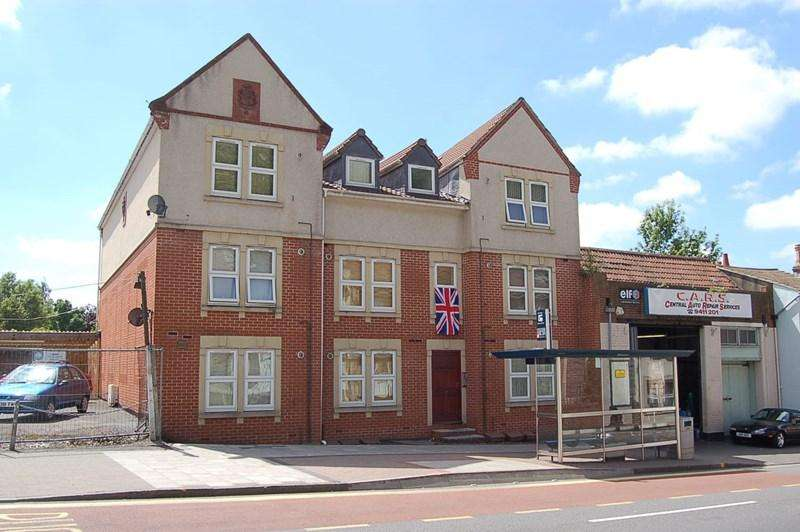Studio Flat for sale in Church Road, St. George, Bristol