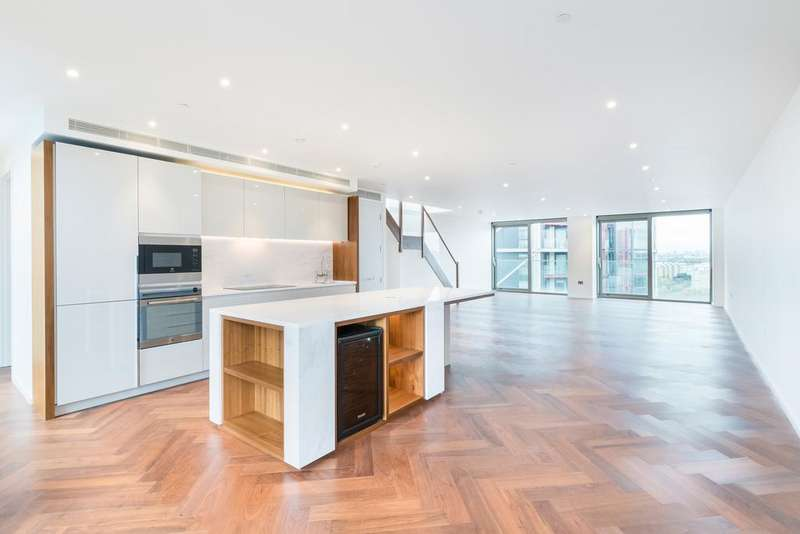 3 Bedrooms Flat for sale in Embassy Gardens, Capital Building