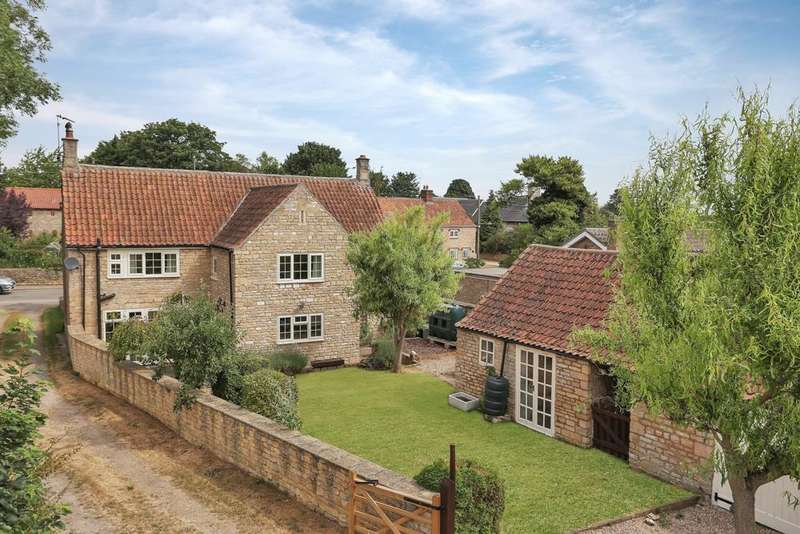 4 Bedrooms Detached House for sale in Main Street, Welby, Grantham