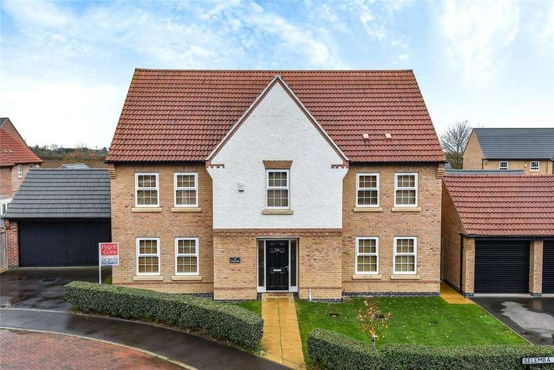 5 Bedrooms Detached House for sale in Hampden Way, Greylees, NG34