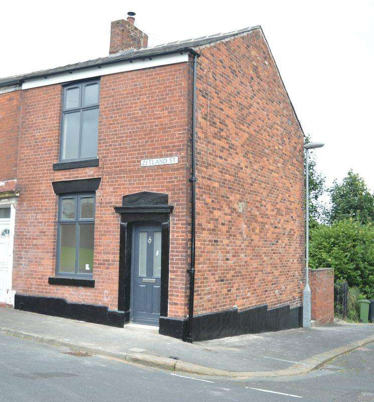 2 Bedrooms End Of Terrace House for sale in Zetland Street, Dukinfield