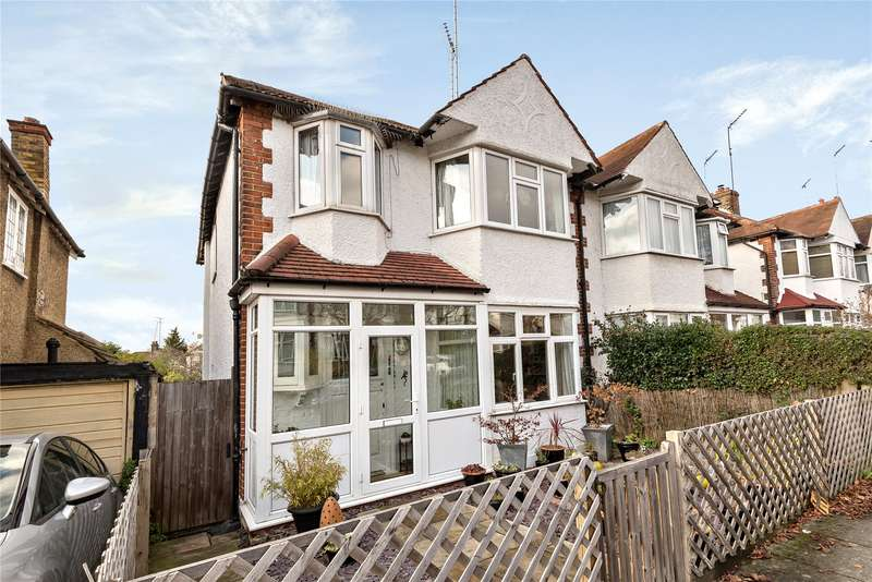 3 Bedrooms Semi Detached House for sale in Birley Road, Totteridge
