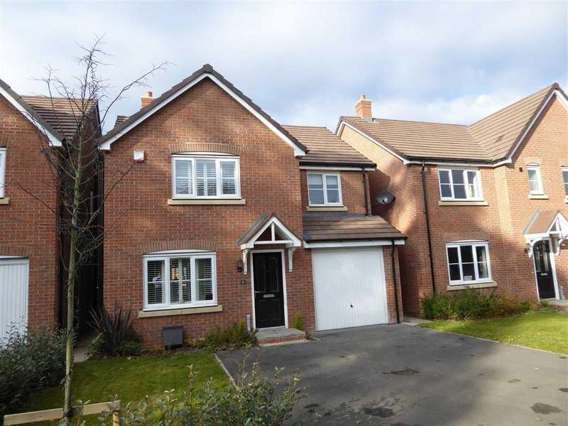 4 Bedrooms Detached House for sale in Wright Gardens, Leamington Spa, Warwickshire