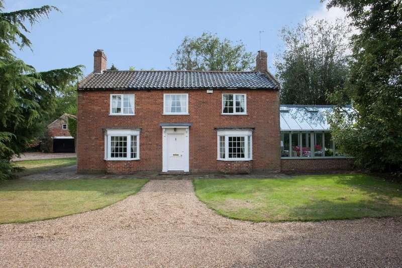 4 Bedrooms Detached House for sale in Kirby Cane, Bungay