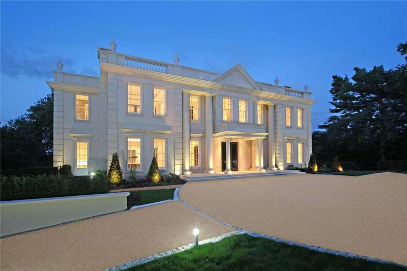 6 Bedrooms Detached House for sale in Old Avenue, St. George's Hill, Weybridge, Surrey, KT13