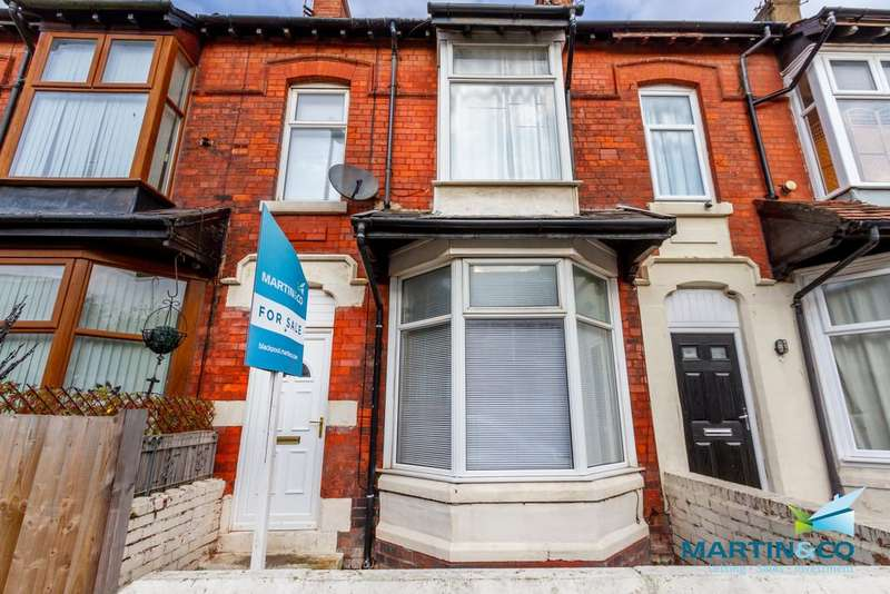 4 Bedrooms Terraced House for sale in Wolsley Road, Blackpool