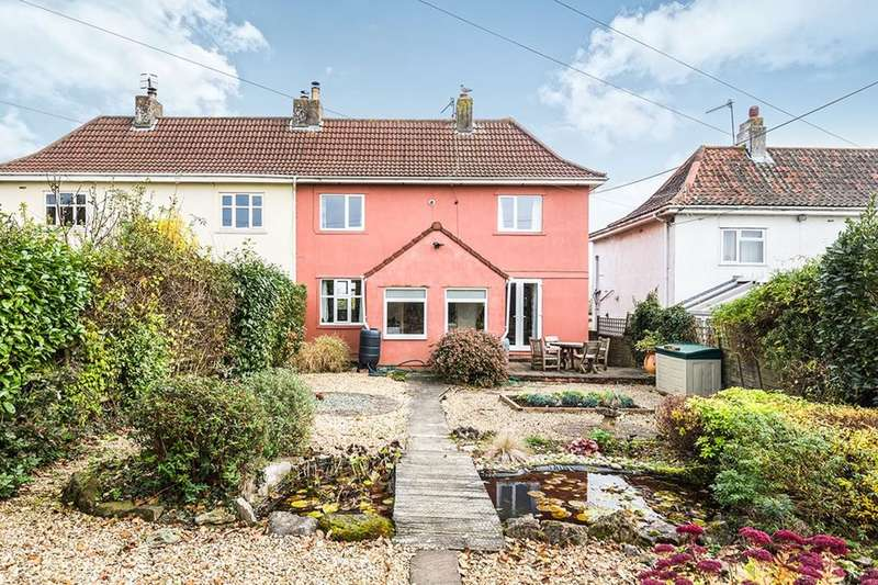 2 Bedrooms Semi Detached House for sale in Clevedon Road, Portishead, Bristol, BS20