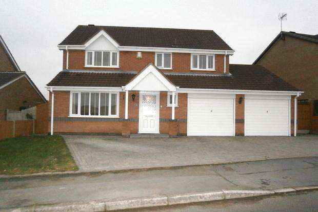 4 Bedrooms Detached House for sale in Oakmeadow Way, Groby, Leicester, LE6