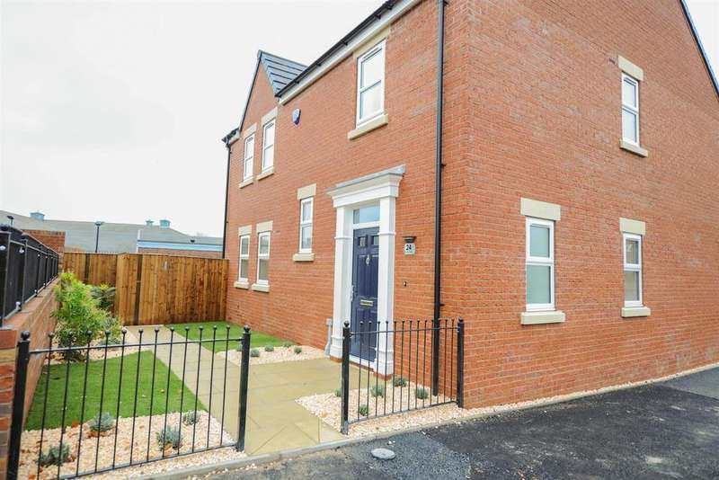 5 Bedrooms Detached House for sale in Saltergate, Chesterfield