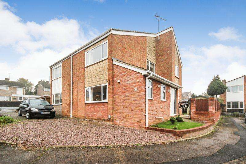 3 Bedrooms Semi Detached House for sale in Elms Close, Ampthill