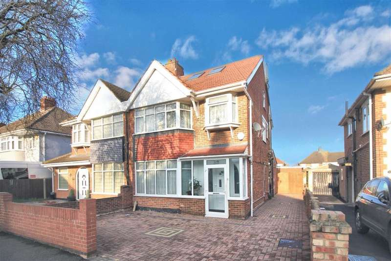 4 Bedrooms Semi Detached House for sale in Warley Avenue, Hayes, UB4