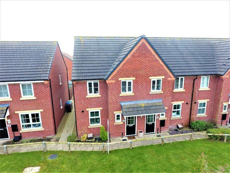 3 Bedrooms End Of Terrace House for sale in Willow Road, Thornton, Thornton Cleveleys, Lancashire, FY5 4GR