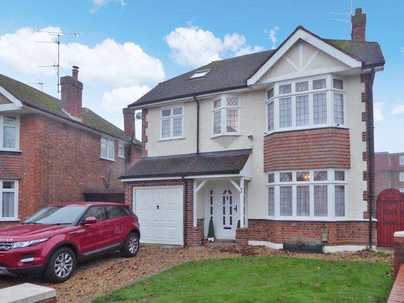 5 Bedrooms Detached House for sale in Kingscroft Avenue, Dunstable