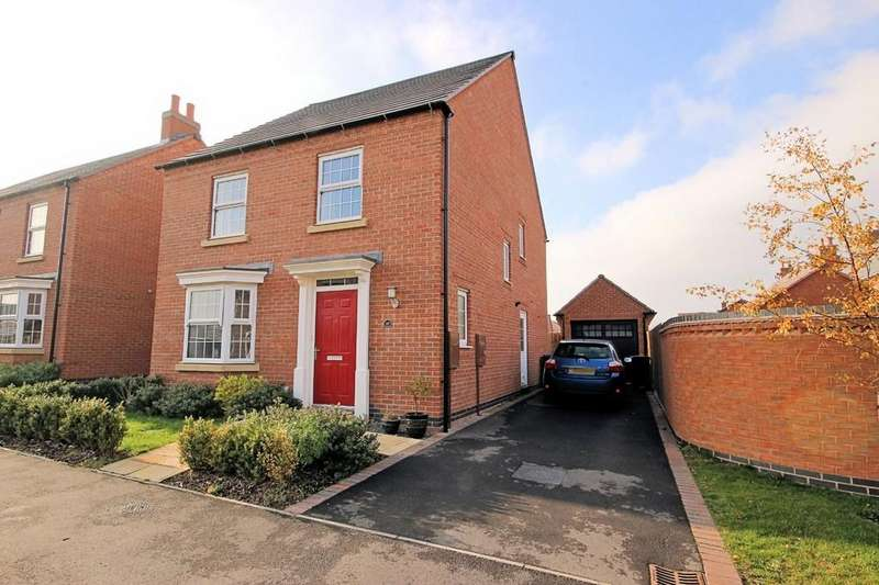 4 Bedrooms Detached House for sale in Cornflower Way, East Leake