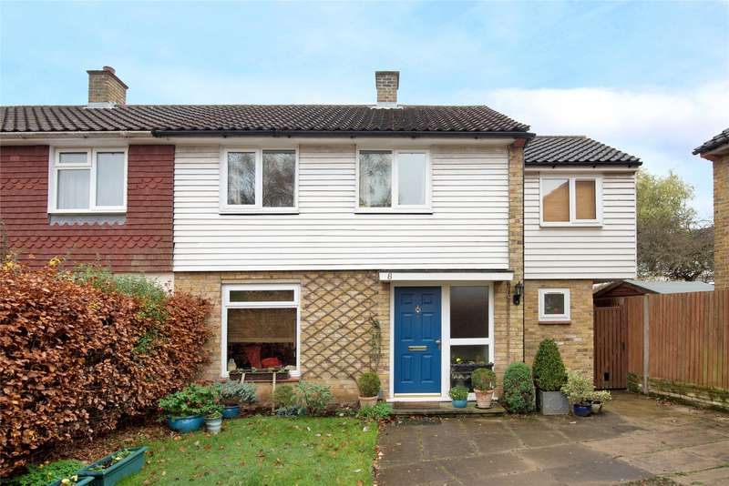 3 Bedrooms End Of Terrace House for sale in Aldenham Terrace, Bracknell, Berkshire, RG12