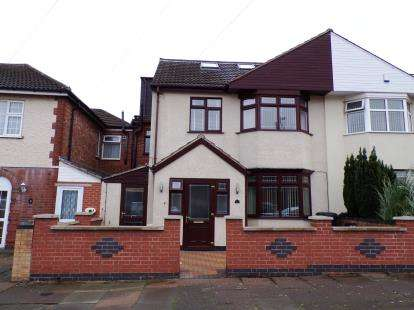 5 Bedrooms Semi Detached House for sale in Shipley Road, North Evington, Leicester, Leicestershire
