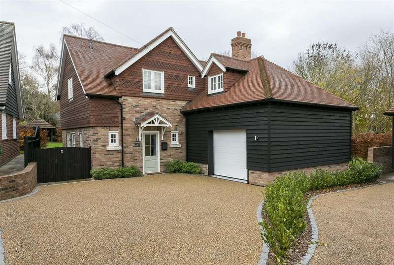 4 Bedrooms Detached House for sale in West Farleigh