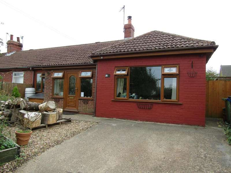 4 Bedrooms Semi Detached Bungalow for sale in Monson Road, Northorpe, Gainsborough, DN21 4AE