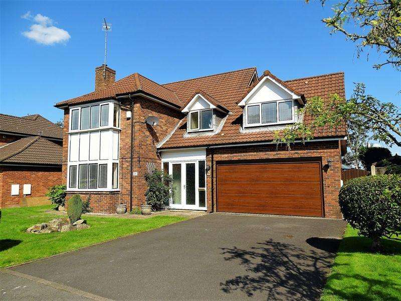 5 Bedrooms Detached House for sale in Castle Walk, Penwortham, Preston
