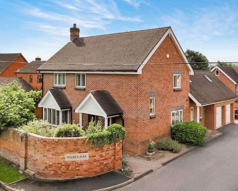 4 Bedrooms Detached House for sale in Holmer Park, Hereford