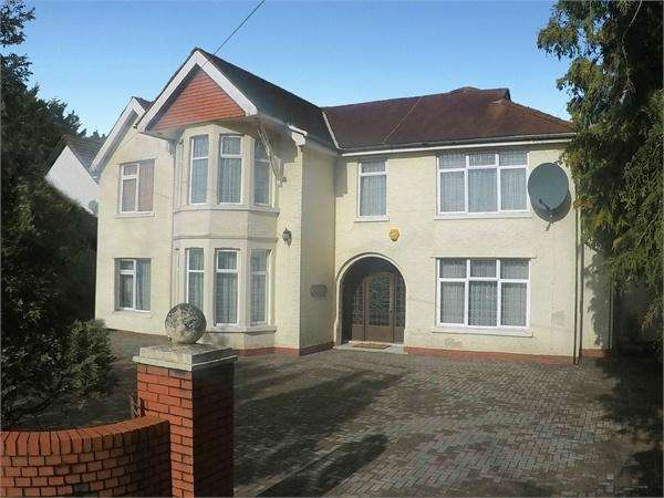 6 Bedrooms Detached House for sale in Hollybush Road, Cyncoed, Cardiff