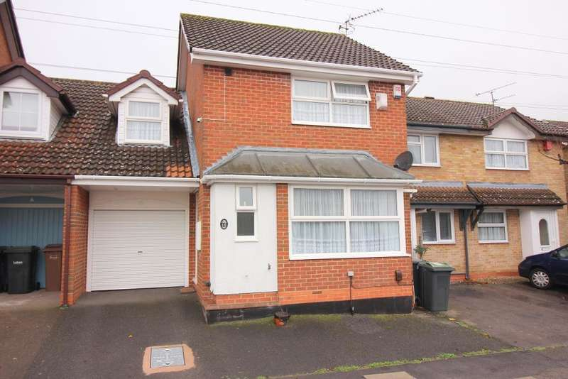 3 Bedrooms End Of Terrace House for sale in Whitehaven, Luton, Bedfordshire, LU3 4BX
