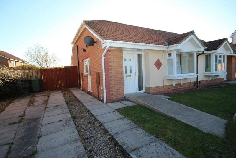 2 Bedrooms Semi Detached Bungalow for sale in Wasdale Close, Bakers Mead, Hartlepool