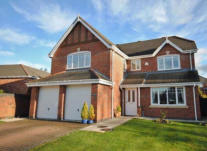 5 Bedrooms Detached House for sale in Plover Close, Tytherington