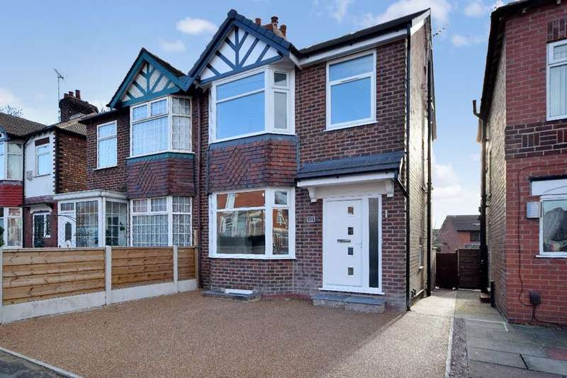 4 Bedrooms Semi Detached House for sale in Cheadle Old Road, Stockport